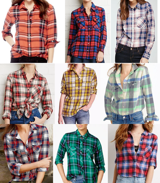 Plaid tops under $50