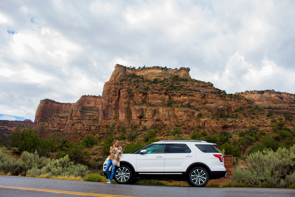 Colorado National Monument, Ford Explorer Platinum 2016