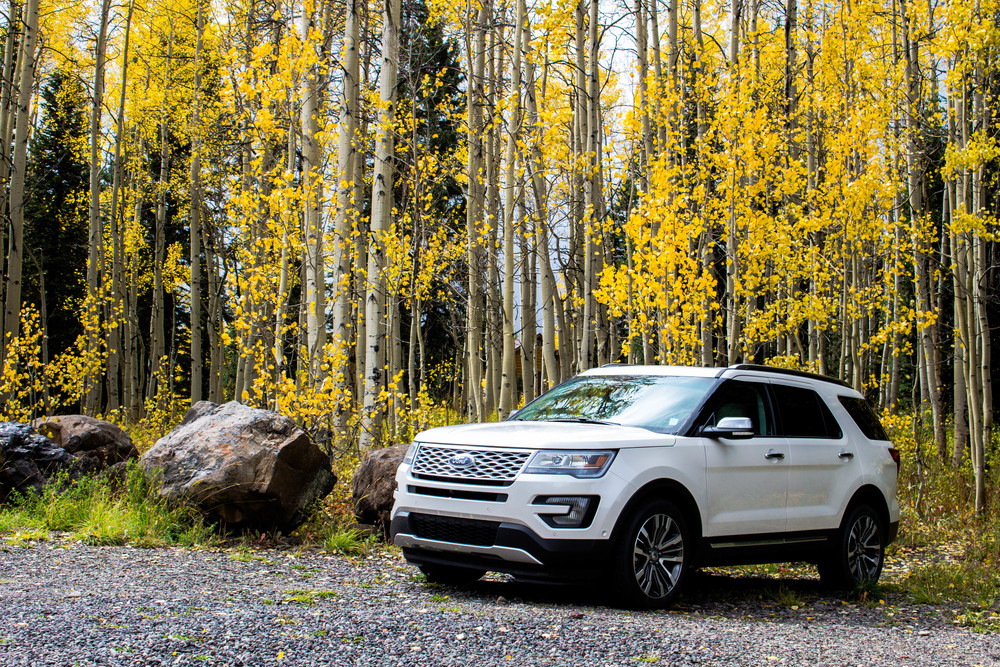 Grand Mesa Colorado, Ford Explorer Platinum 2016