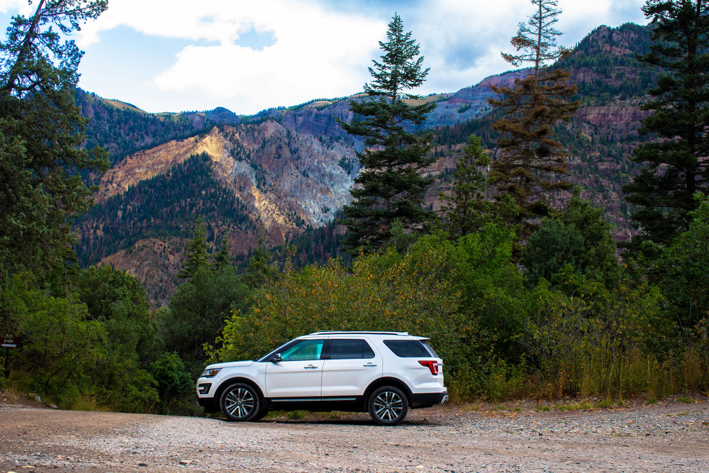 Ouray, Colorado - 2016 Ford Explorer Platinum