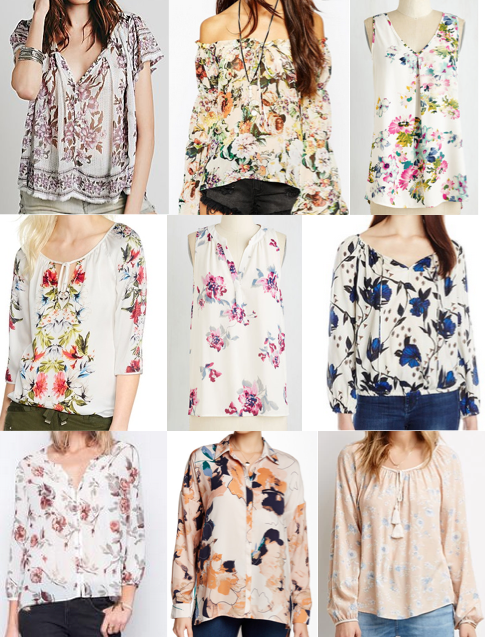 Boho blouses under $100