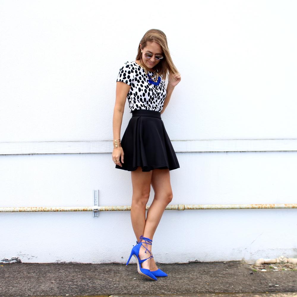 Steve Madden cobalt heels