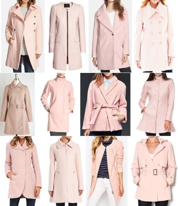 Pink coats under $200