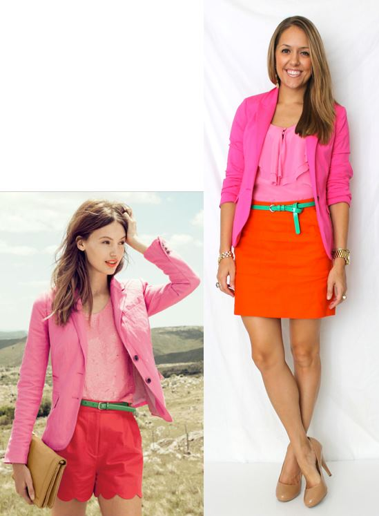 Color Combo: Pink and Orange