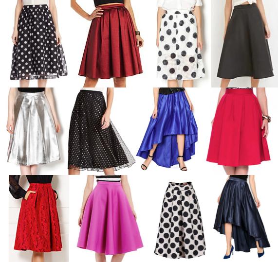 Midi skirts under $100