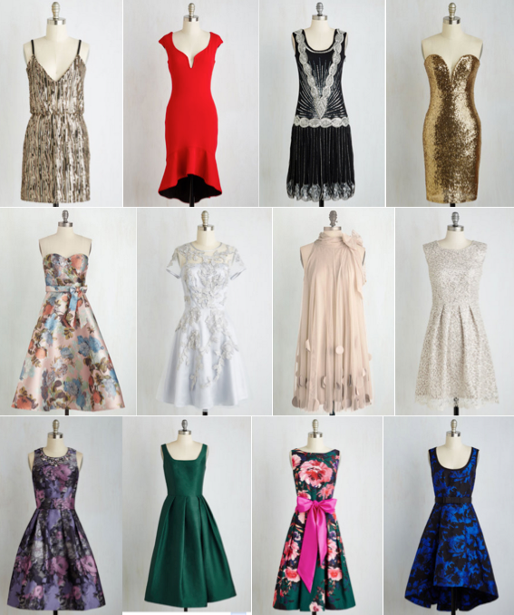 ModCloth party dresses