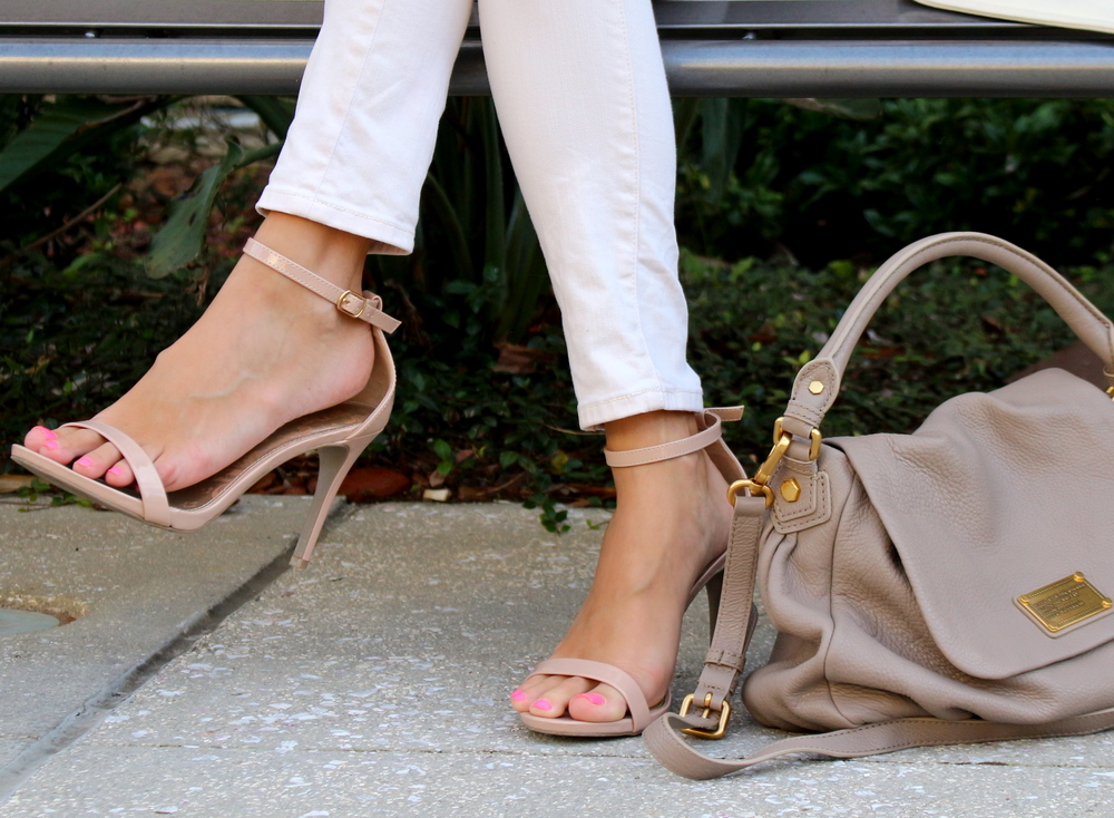 Payless ankle strap heels