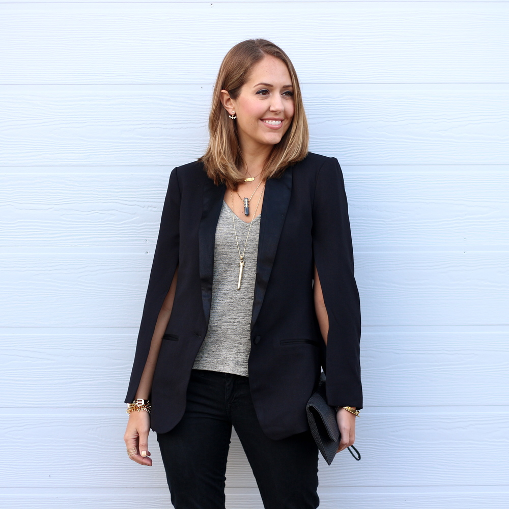 Today's Everyday Fashion: Cape Blazer — J's Everyday Fashion