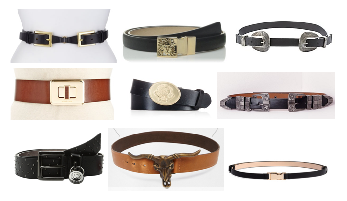 Creative belt buckles under $100