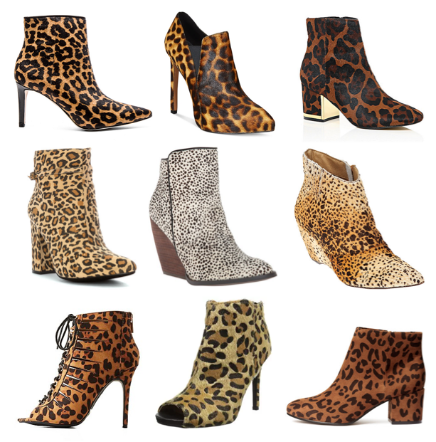 Leopard booties on a budget