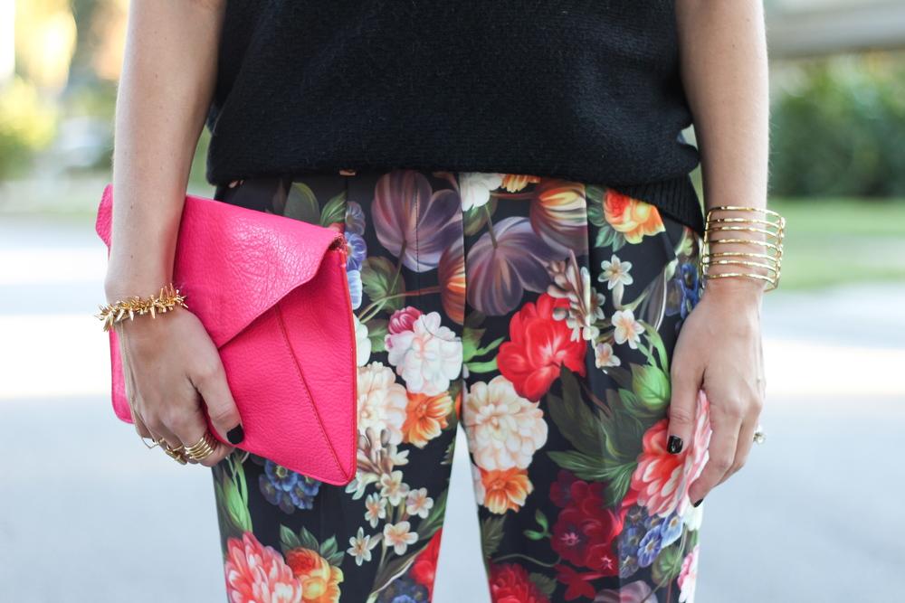 Floral J.Crew pants