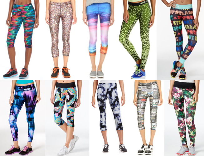 Fun yoga pants under $100