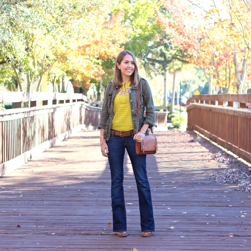 Today's Everyday Fashion: Yellow — J's Everyday Fashion