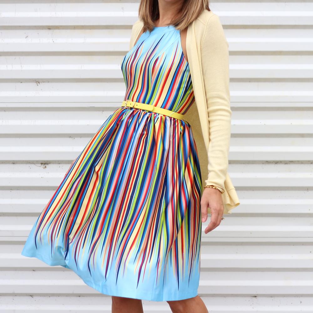 Color Me ModCloth - rainbow dress