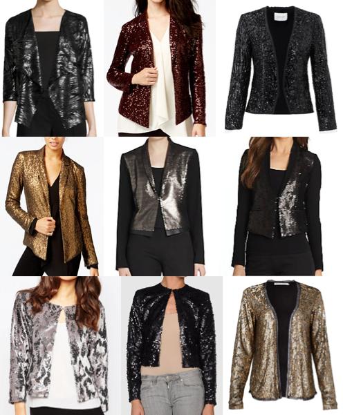 Sequin blazers under $100