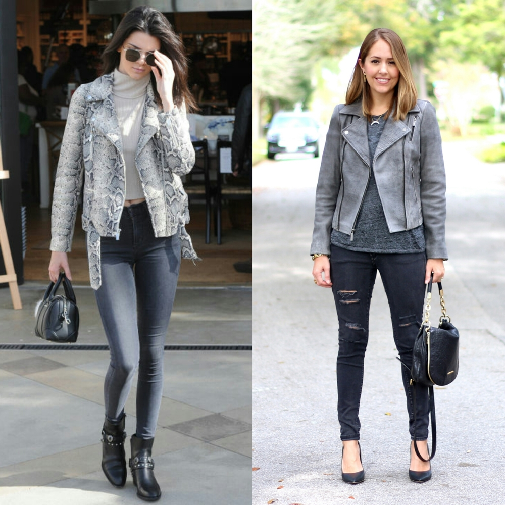 Denim Guide How To Wear Leather Jackets With Jeans
