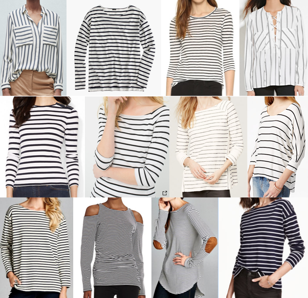 Striped tees under $70