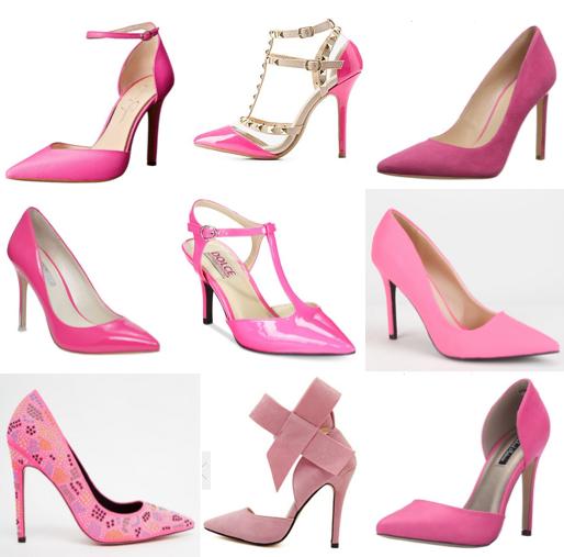 Pink pumps under $100