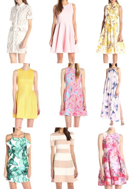 Easter dress shopping!