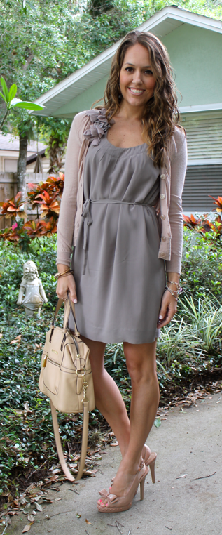 Chiffon dress, Banana Republic