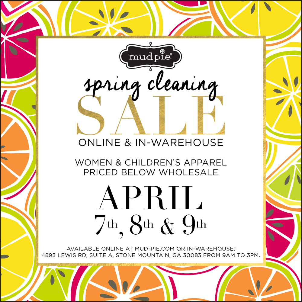Mue Pie Warehouse Sale
