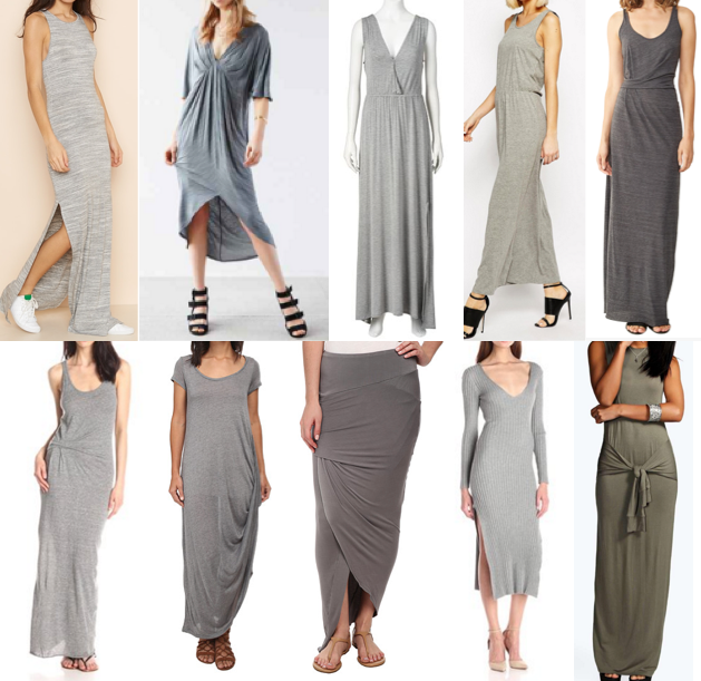 Gray maxis under $100