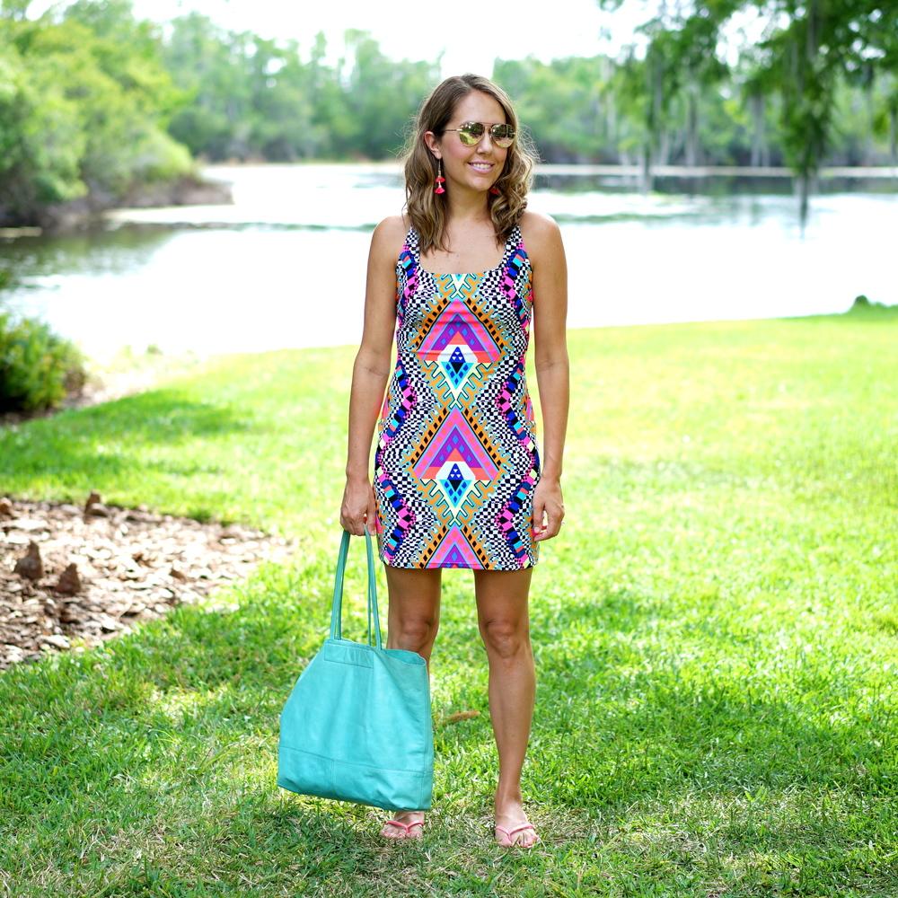 Mara Hoffman mini swim dress