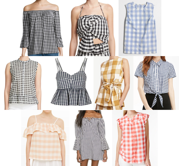 Gingham on a budget