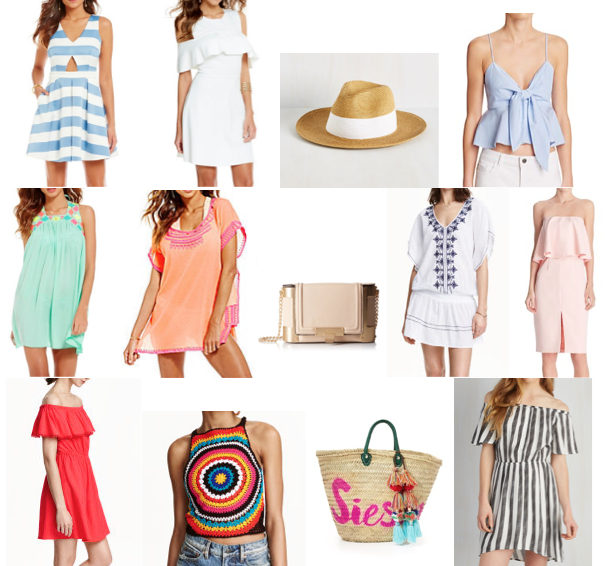 Spring style wish list - under $150