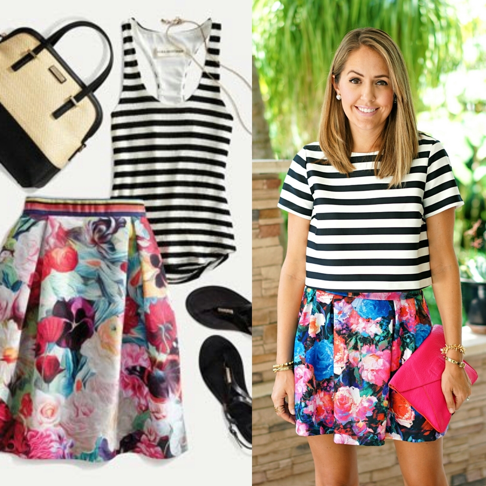 Inspiration: Amazon Email (Top, Skirt)