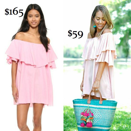 Left dress:Shopbop, $165