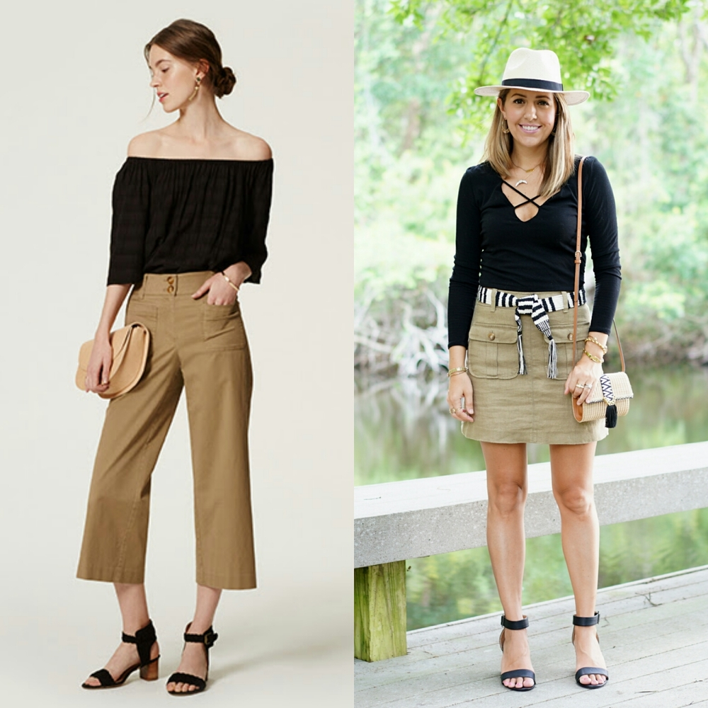 Inspiration: LOFT  Top ,  Pants ,  Shoes