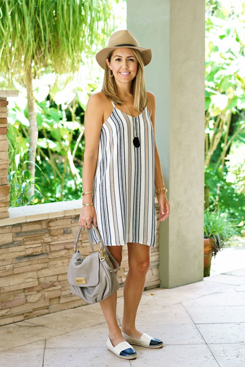 Collective Concepts striped dress