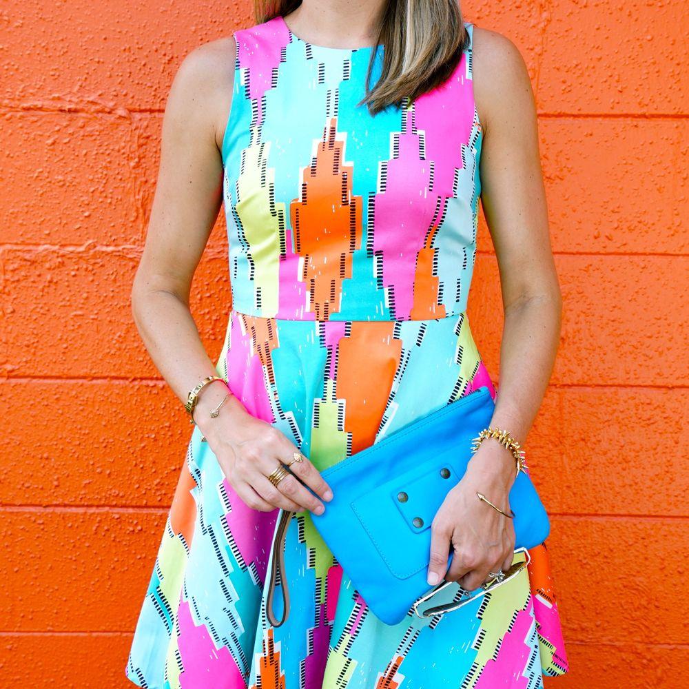 Neon dress - Macy's
