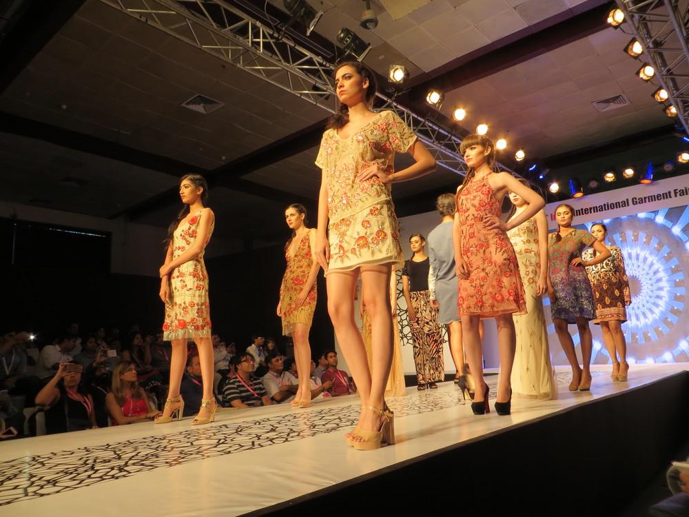 india runway show