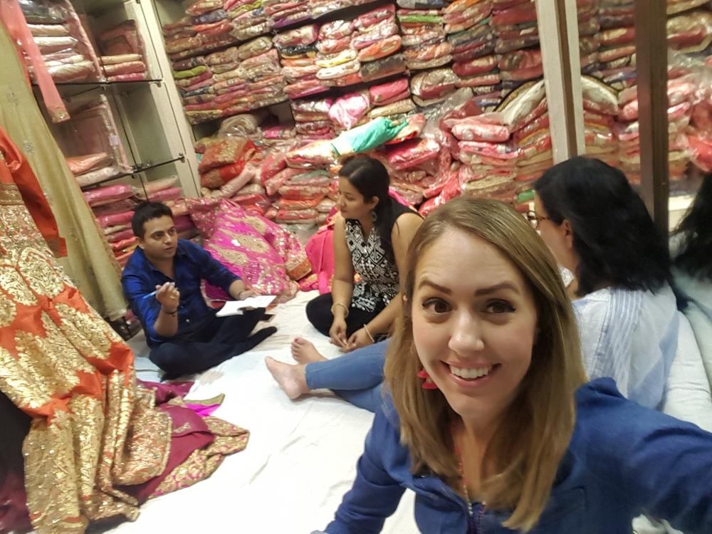 Old Delhi dress shop