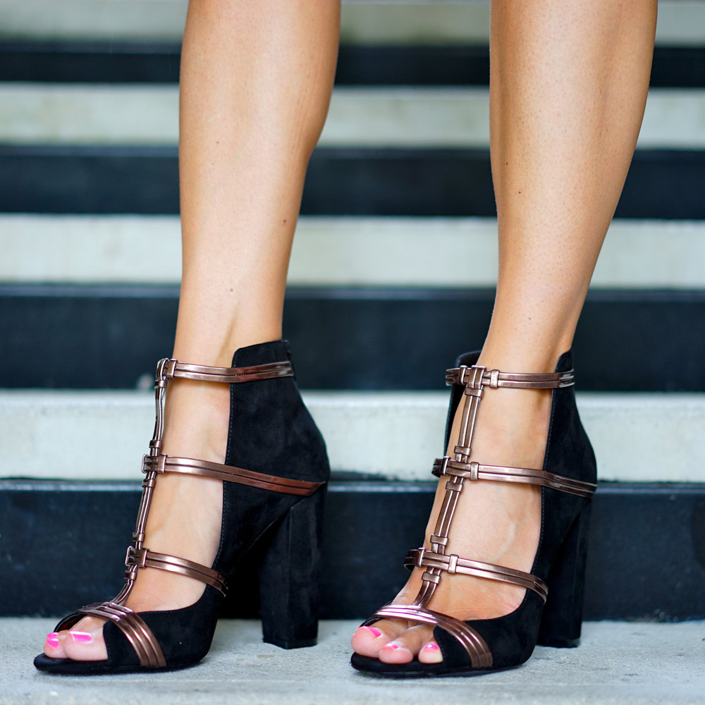 Cage heels from Kohl's