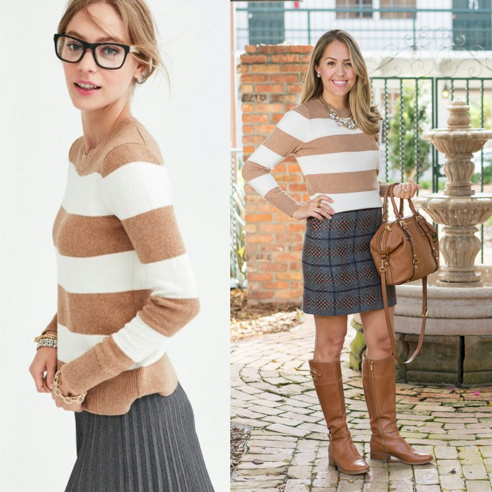 Inspiration: J.Crew Factory (and skirt)