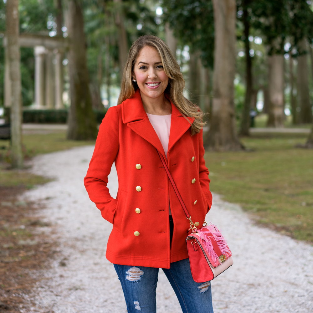 Today's Everyday Fashion: The Red Coat — J's Everyday Fashion
