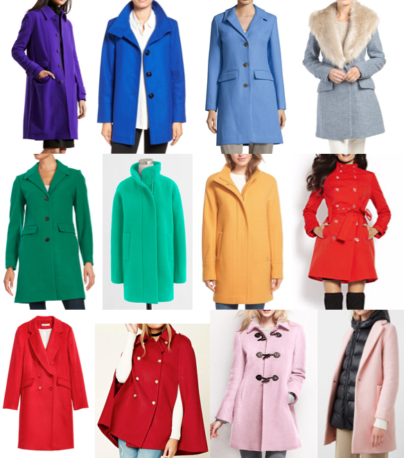Colorful coats