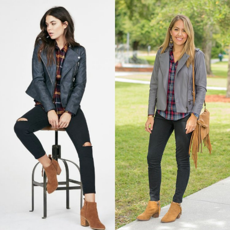 Catalog+inspired-+gray+leather+jacket,+plaid+top,+black+jeans.jpeg
