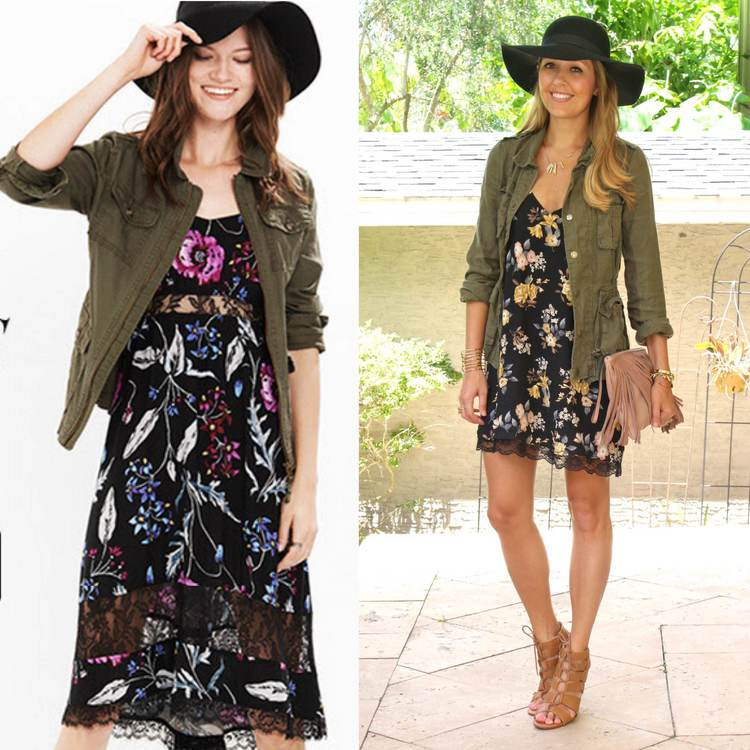 Look+for+less-+military+jacket+with+floral+dress.jpeg