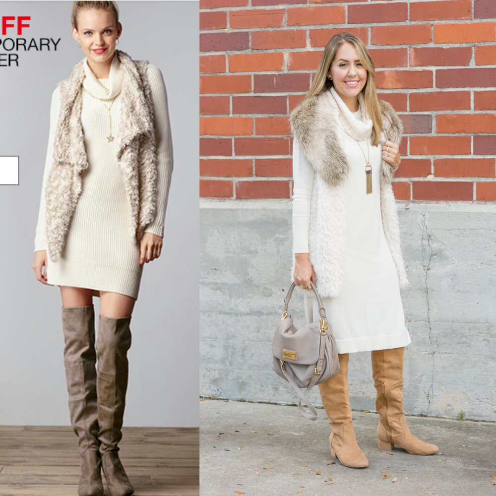 Inspiration: Macy's (Dress / Boots)