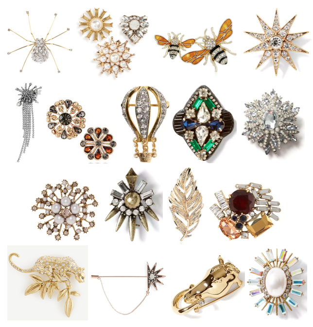 Brooches under $40