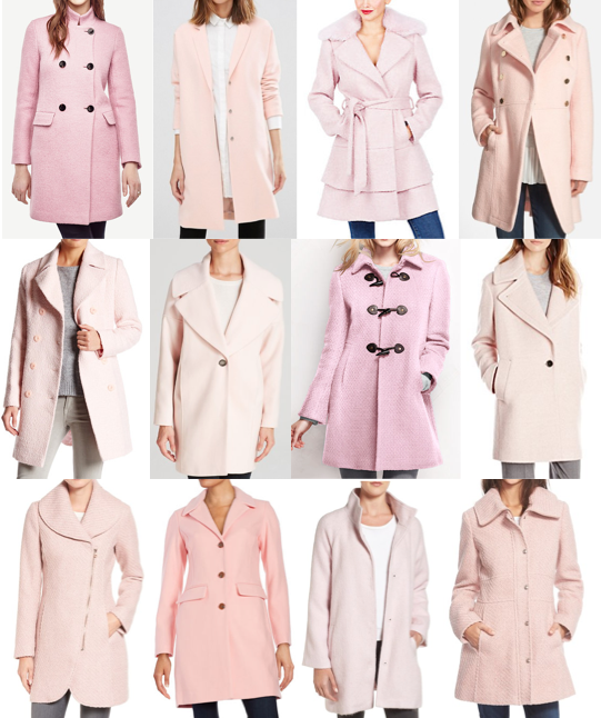 Pink coats on a budget