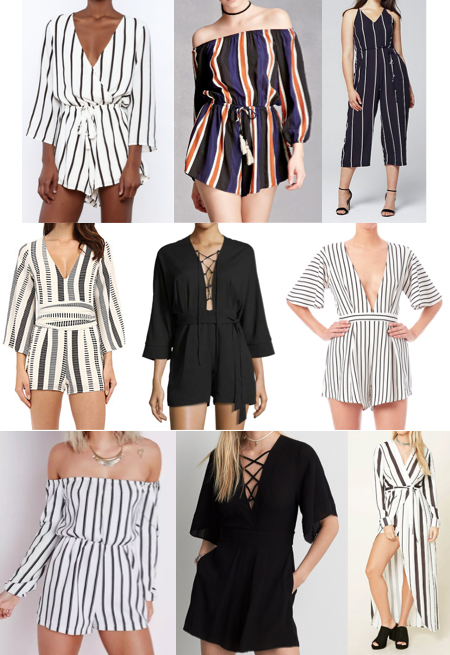 Rompers on a budget