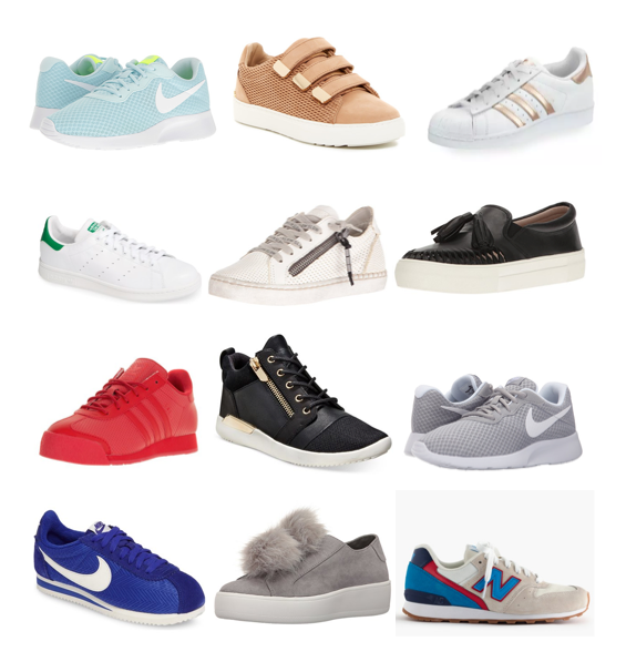 Fashion sneakers on a budget