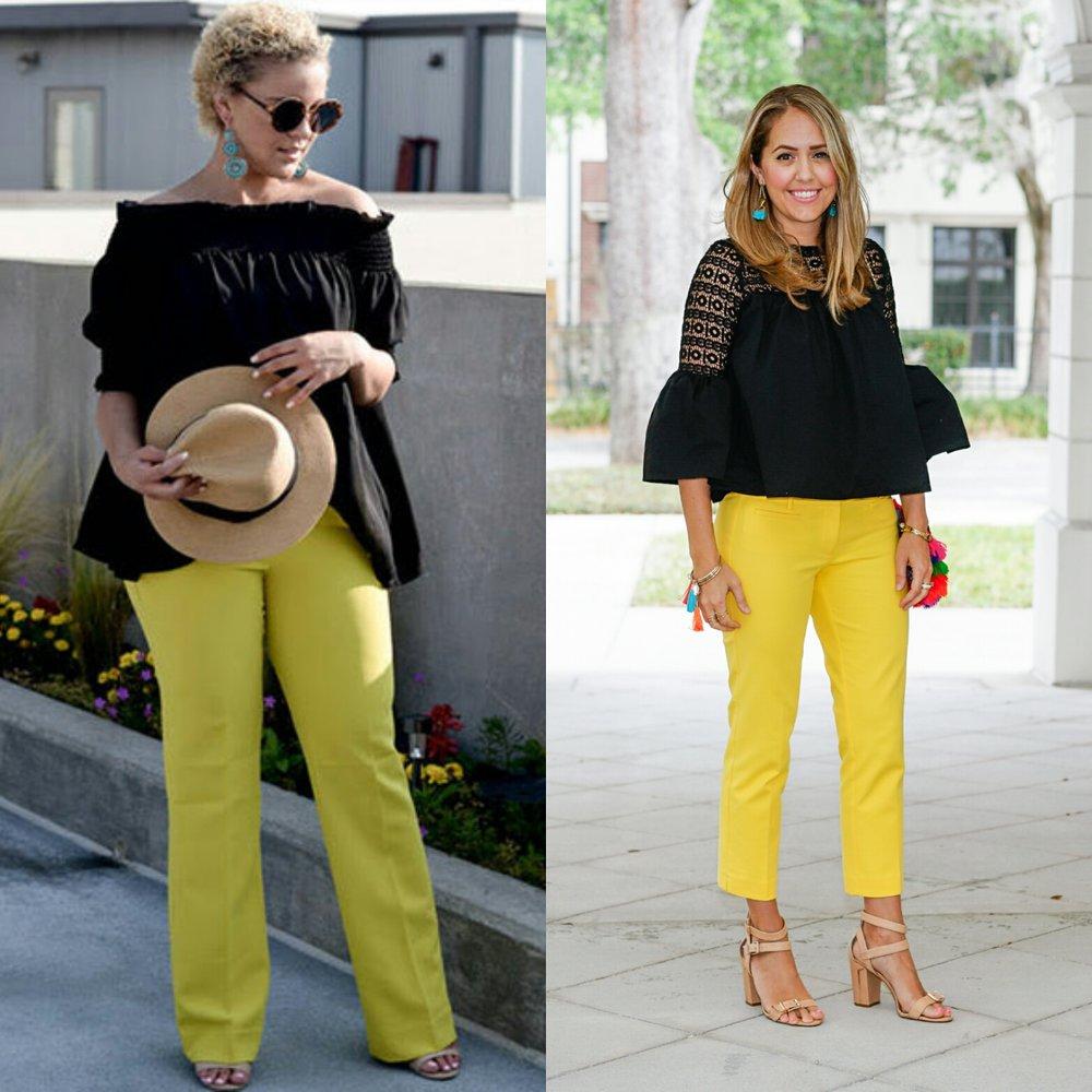 Inspiration:fashionably lo via a banana Republic Email