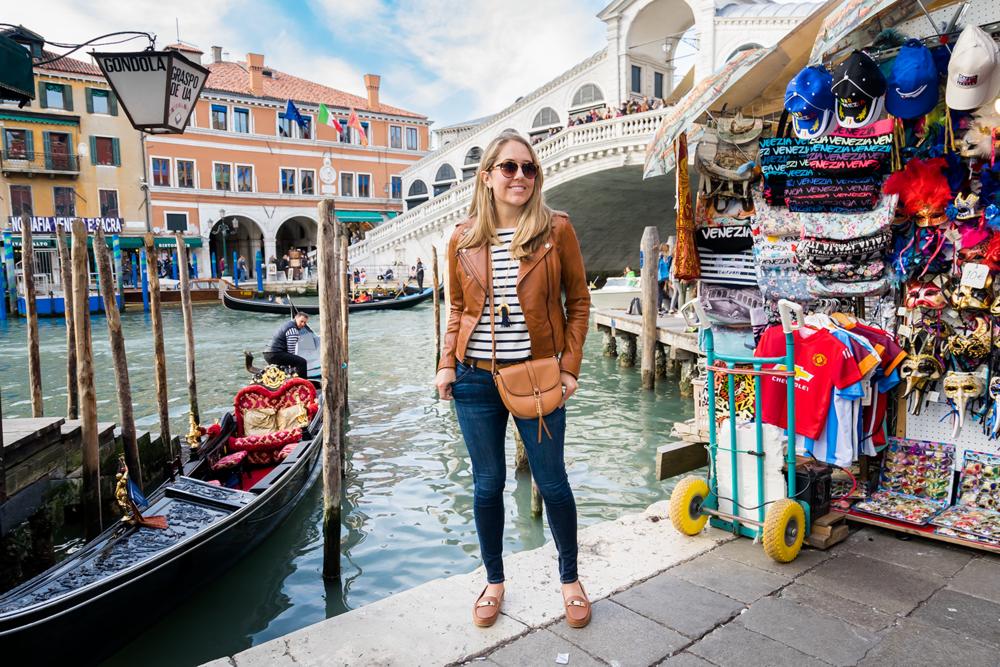 Venice, Italy outfit -Rialto Bridge