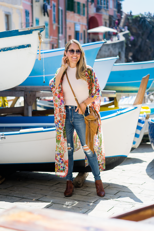 Riomaggiore Cinque Terre fashion blog